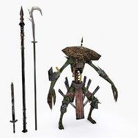 character 002 3D model