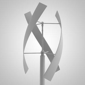 3D vertical wind generator