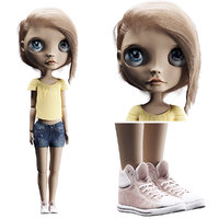 3D blythe doll
