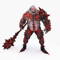 3D character 005 model