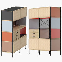 eames storage unit esu 3D model