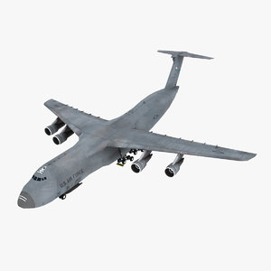 lockheed c-5 galaxy aircraft model