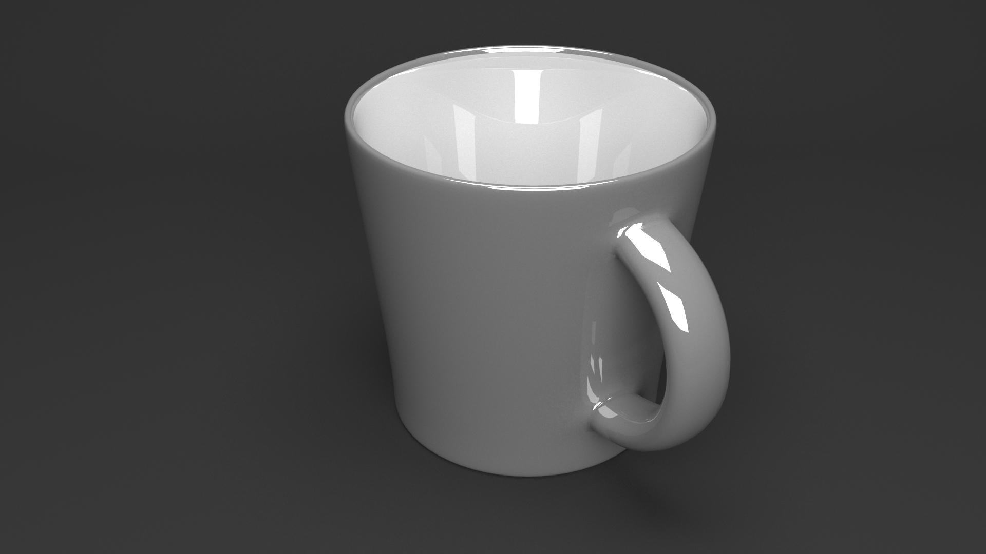 3D model beverage cup