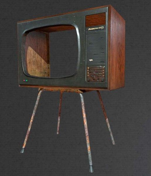tv chair 3D model
