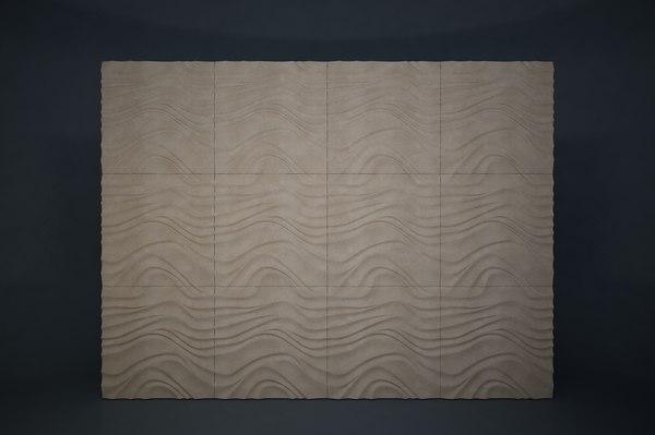 3D pattern wall