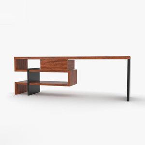 boa concept desk 3D