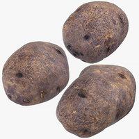 3D purple potatoes 02