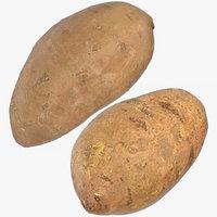 3D sweet potatoes 03