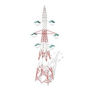 electricity pole model