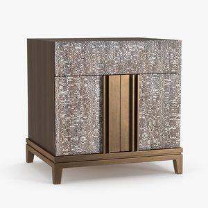 byethorne bedside tables - 3D