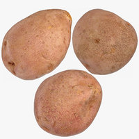 3D red potatoes 02