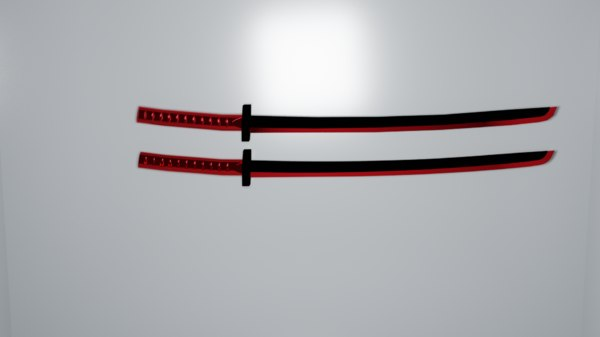 3D model blade
