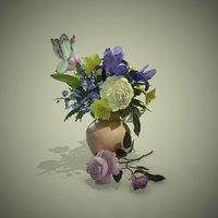 3D pbr flower