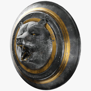 bear shield pbr model