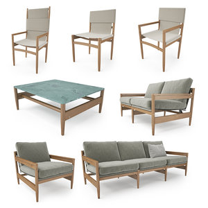 roda road furniture 3D model
