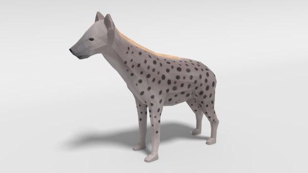 3D hyena model
