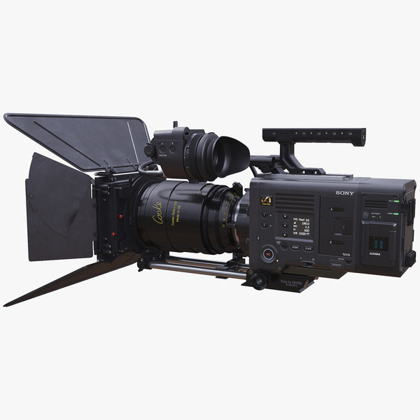 3D sony venice movie camera