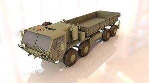 3D m977 hemtt military heavy truck