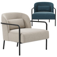 3D model circa lounge chair mad