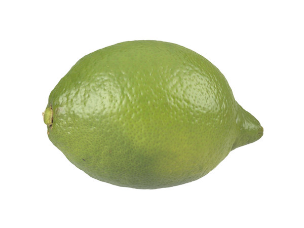 photorealistic scanned lemon 3D model