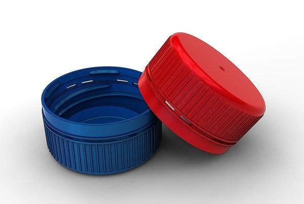 plastic bottle cap 3D