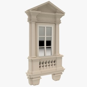 3D window x1 model