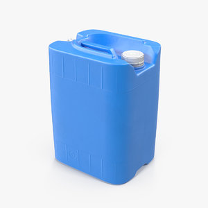 plastic water tank 5 3D model