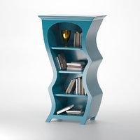3D artisan series bookcase model