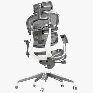 3D modern office chair ergohuman