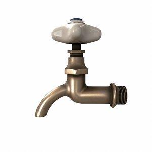 ussr water tap 3D model