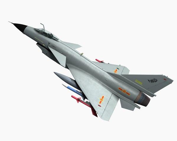 j-10 fighter aircraft model