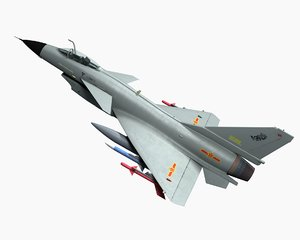 j-10 fighter aircraft model