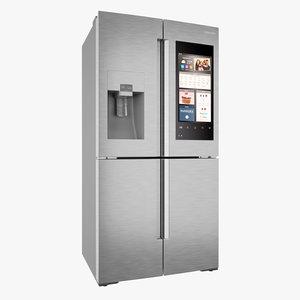 samsung family hub refrigerator 3D model