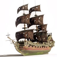 pirates queen anne s 3D