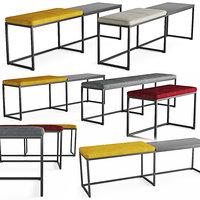 bench london 3D model
