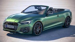 audi a5 cabrio 3D model