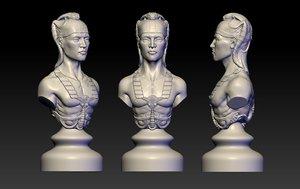 3D figure egypt model