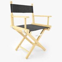directors chair natural wood model