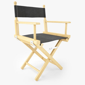 directors chair natural wood model