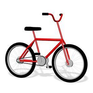 bmx bike bicycle cycle model