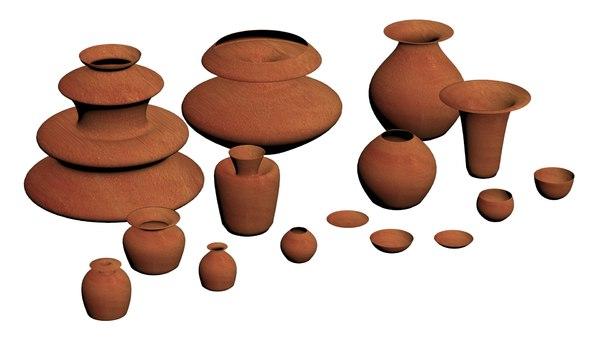3D pottery set - pack
