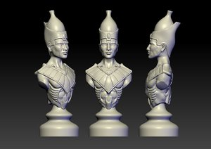 3D figure egypt
