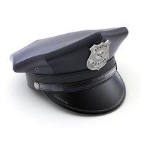 cap police 3D model