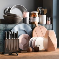 realistic kitchen accessories 5 3D
