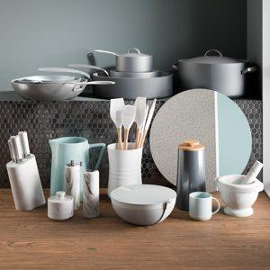 3D realistic kitchen accessories 7