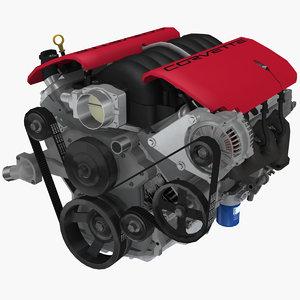 3D parts chevrolet corvette z06