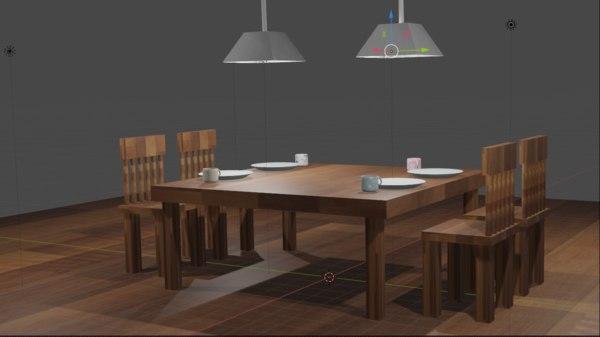 dining 3D model