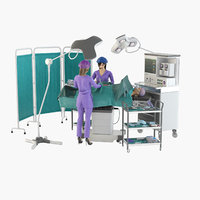 operating pro surgery place 3D