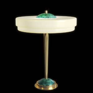 3D trave table lamp