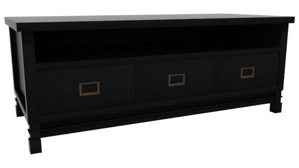 3D model sideboard dark wood